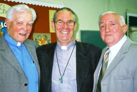 Rev Ken Cowan, Rev Richard Vroom and Tony Myres Mar 12, 2001