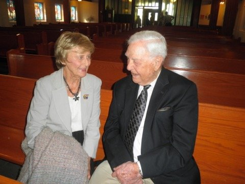 Connie Moonie and Rev Ken Cowan Sept 28, 2014